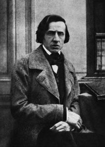 L'unica immagine fotografica di Chopin, poco prima della morte