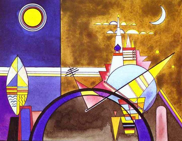 Kandinskij e i quadri pioggia di note sui danzatori - La porta di kiev ...