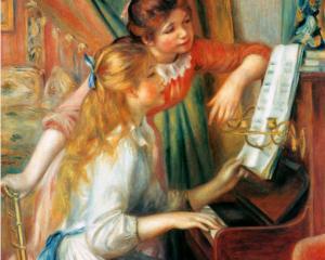 Renoir, Fanciulle al pianoforte, 1892