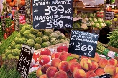 mercato di Barcellona