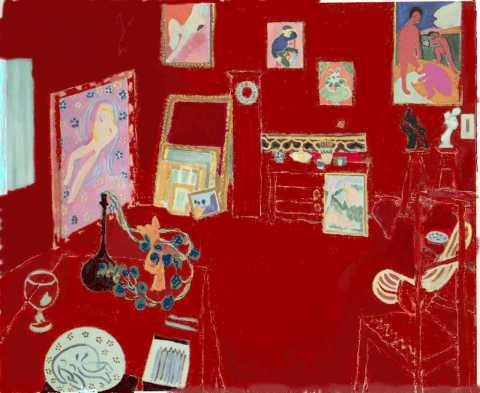 Henri Matisse,  L'Atelier rouge