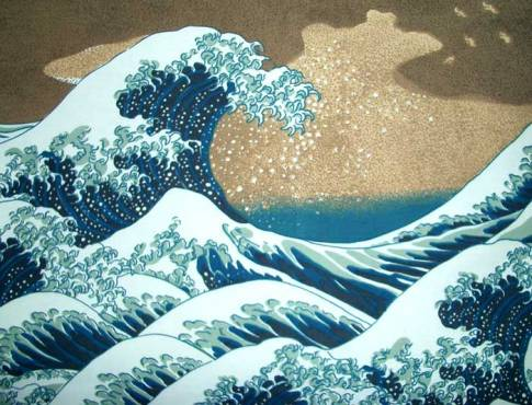 hokusai Giant Wave