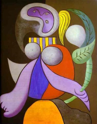 P. Picasso, Donna con fiore