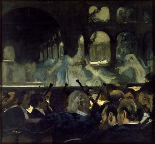 E. Degas, La scena di balletto dall'opera Robert le diable