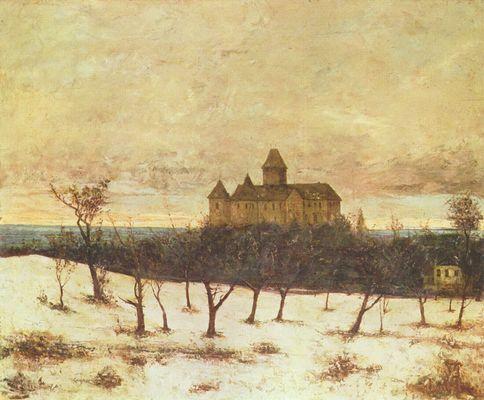 G. Courbet, Il lago di Neuchatel