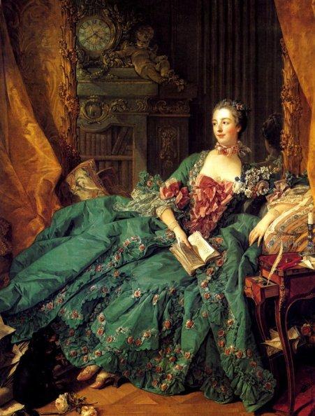 F. Boucher, Mme Pompadour